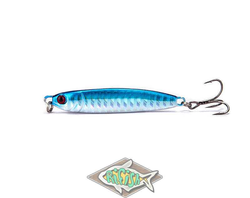 Блесна RENEGADE Iron Minnow 24гр ( пилкер ) Цвет 004