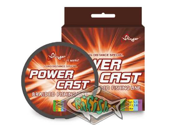 Плетенка Stinger PowerCast  200m Multicolor  0.20мм