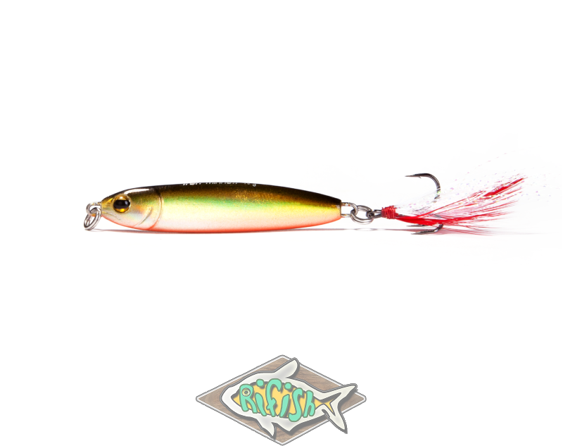 Блесна RENEGADE Iron Minnow 12гр ( пилкер ) Цвет FА156