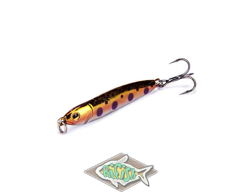 Блесна RENEGADE Iron Minnow 9гр ( пилкер ) Цвет FA168