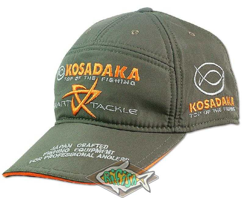 "Бейсболка ""Kosadaka"" Smart Tackle  хаки"