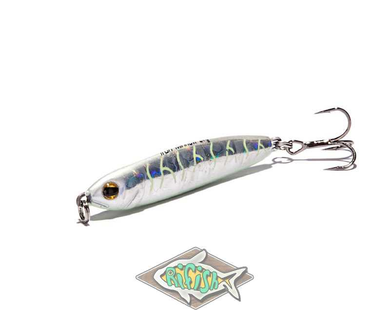 Блесна RENEGADE Iron Minnow 9гр ( пилкер ) Цвет L076