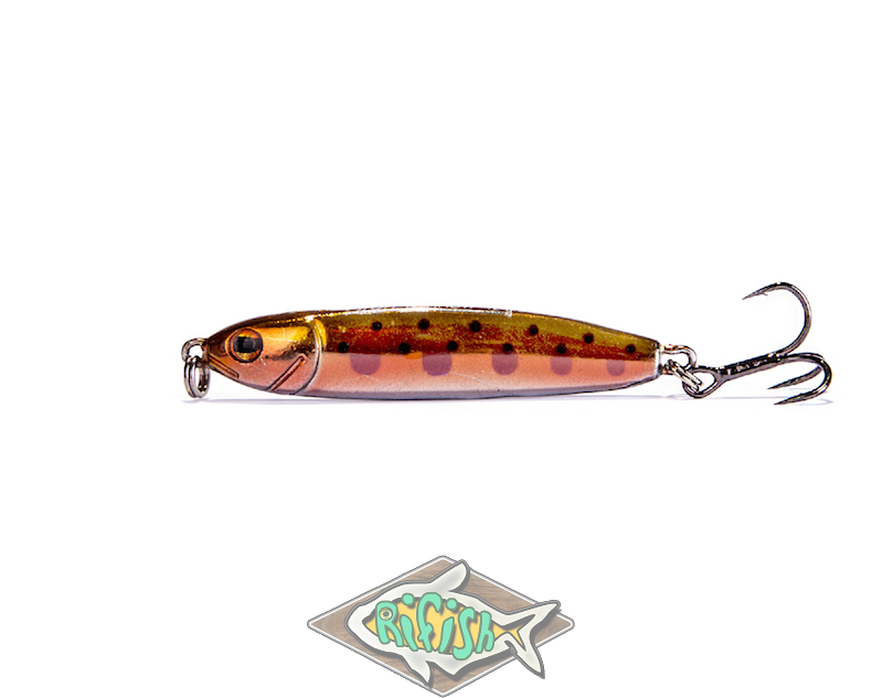 Блесна RENEGADE Iron Minnow 12гр ( пилкер ) Цвет FA168
