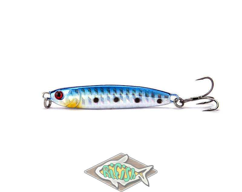 Блесна RENEGADE Iron Minnow 24гр ( пилкер ) Цвет 008